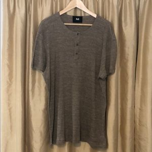 D&G short sleeve Henley